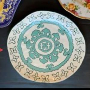 Turquoise Anthropologie Side Plates
